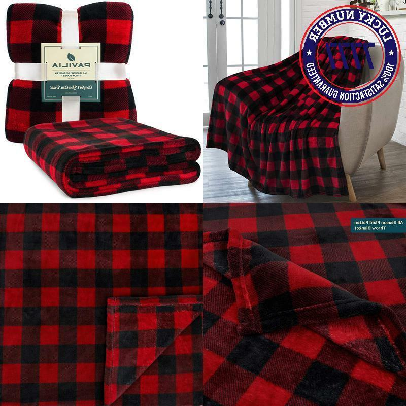 flannel fleece throw blanket for sofa couch