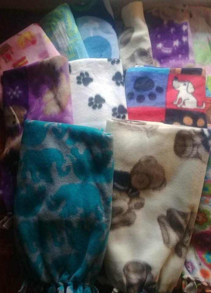 Handmade Fleece Nursery Love U