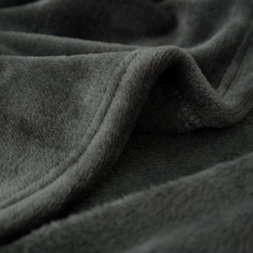 Size Dark Grey Throw Blanket Super Soft