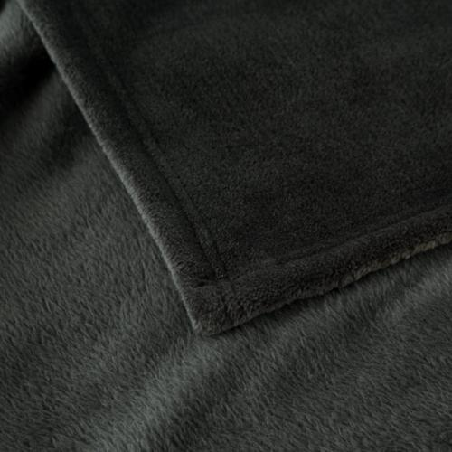 Bedsure Fleece Size Dark Grey Lightweight Throw