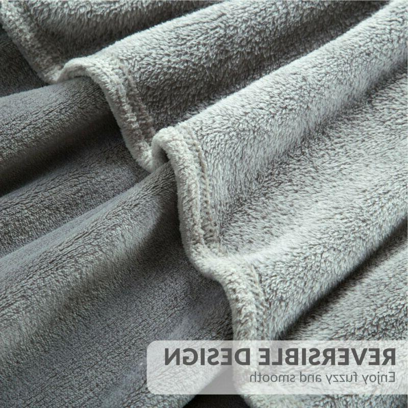 Bedsure Size Grey Lightweight Super Soft Luxury Bl