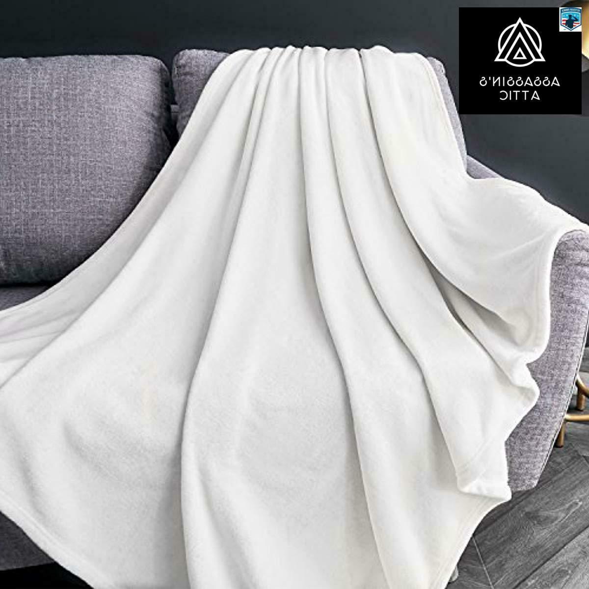 Bedsure Size White Lightweight Blanket Cozy