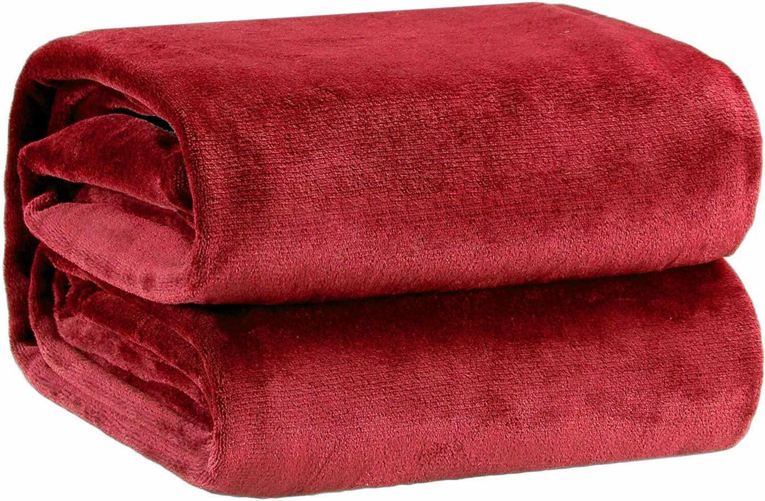 Fleece Polyester Fabric 240 GSM Twin Size