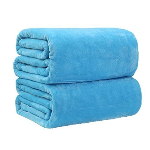 fleece flannel blankets throws plush