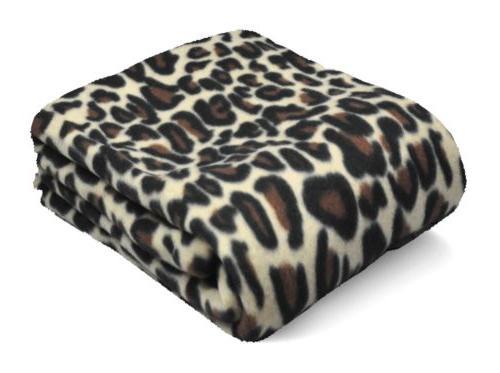 Fleece 50x60 Blanket Design Brown