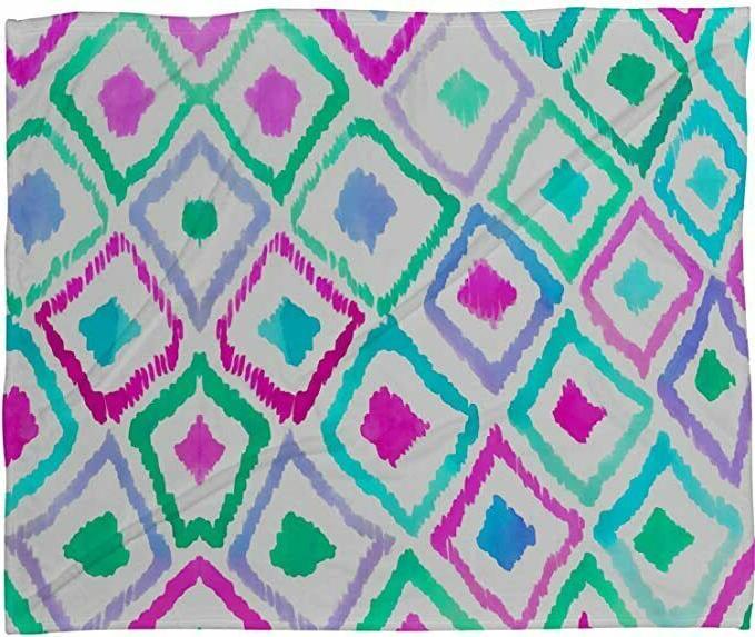 DENY Designs Fleece Blanket 40 Inches Ikat