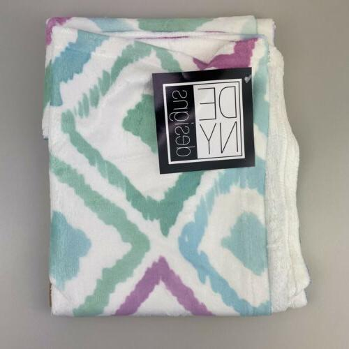 fleece throw blanket 40 x 30 inches