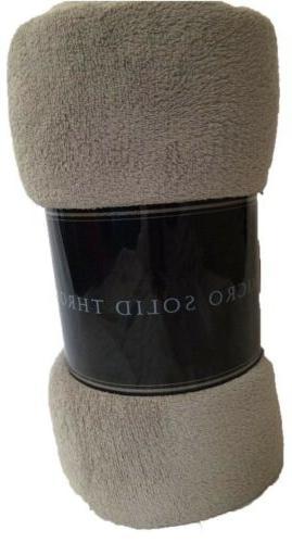 grey silver ultra soft cozy plush fleece