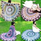 Hippie Mandala Round Towel Indian Tapestry Beach Throw Blank
