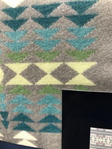 Pendleton Luxe Gray Color Throw 70