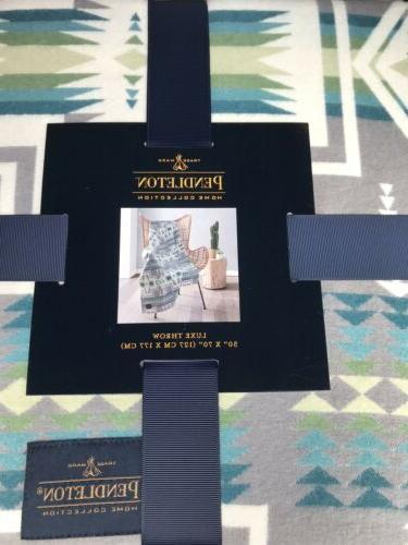 Pendleton Collection Luxe Throw Blanket 50x70 Aztec