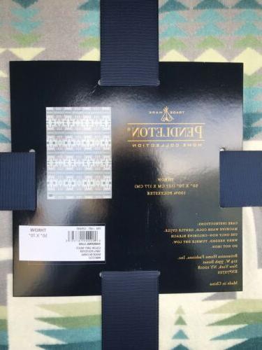 Pendleton Luxe Blanket Aztec