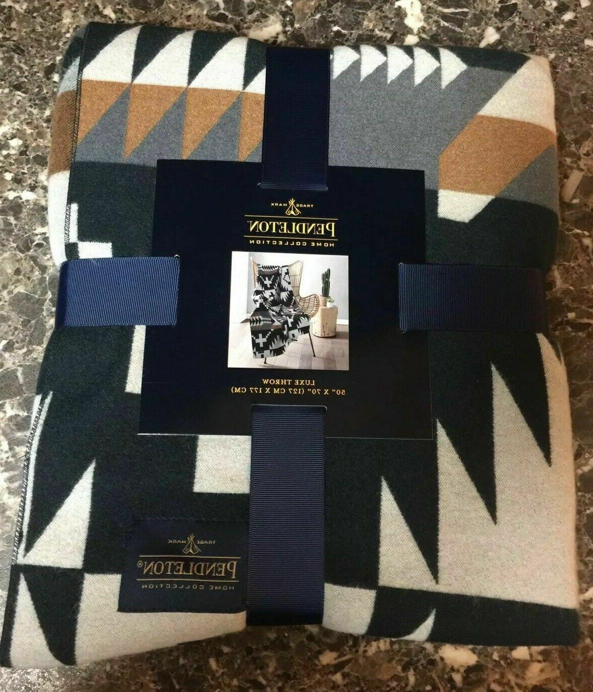 home collection luxe multi color throw blanket