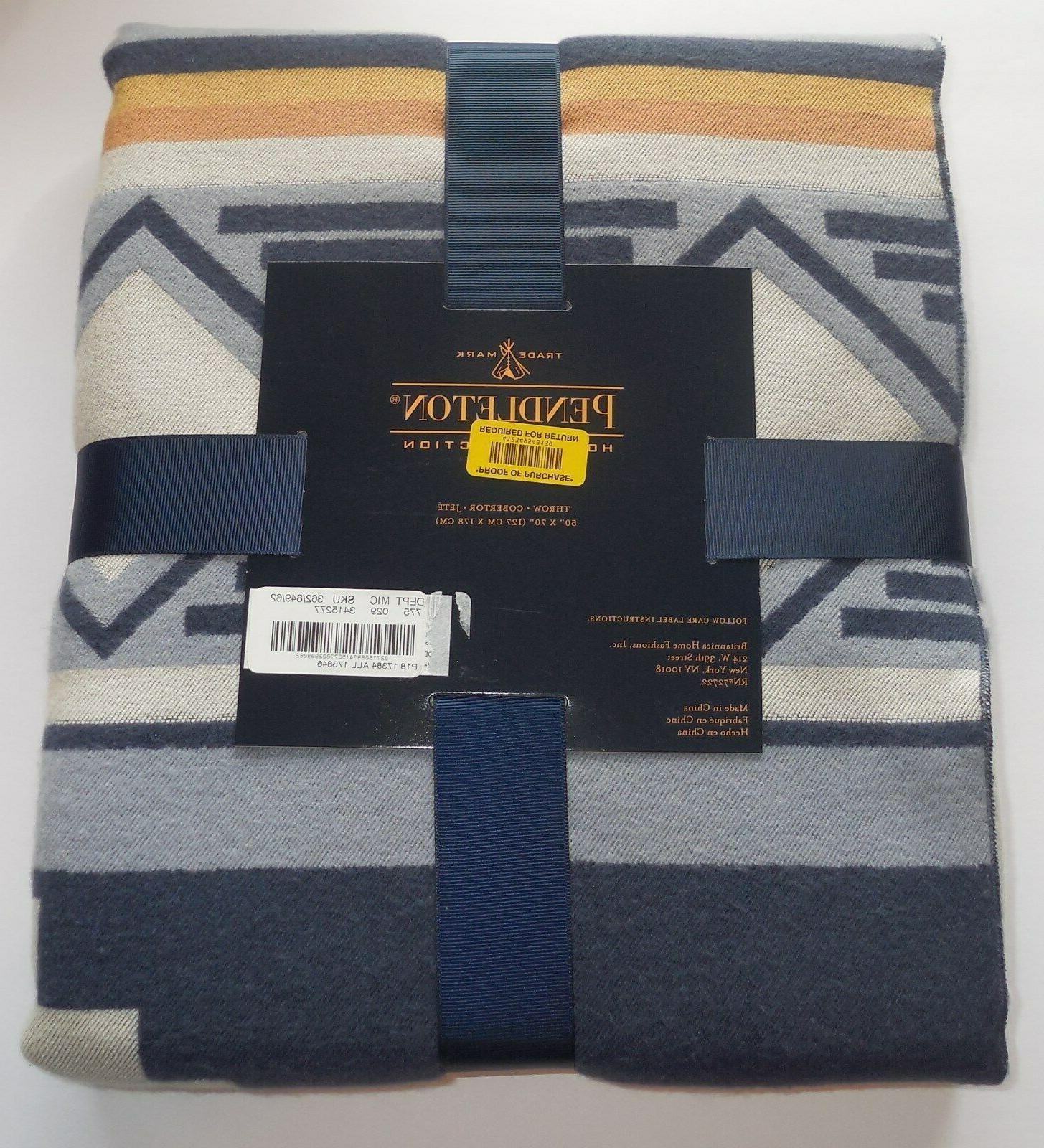 Pendleton Home Blanket Aztec Tribal x 70