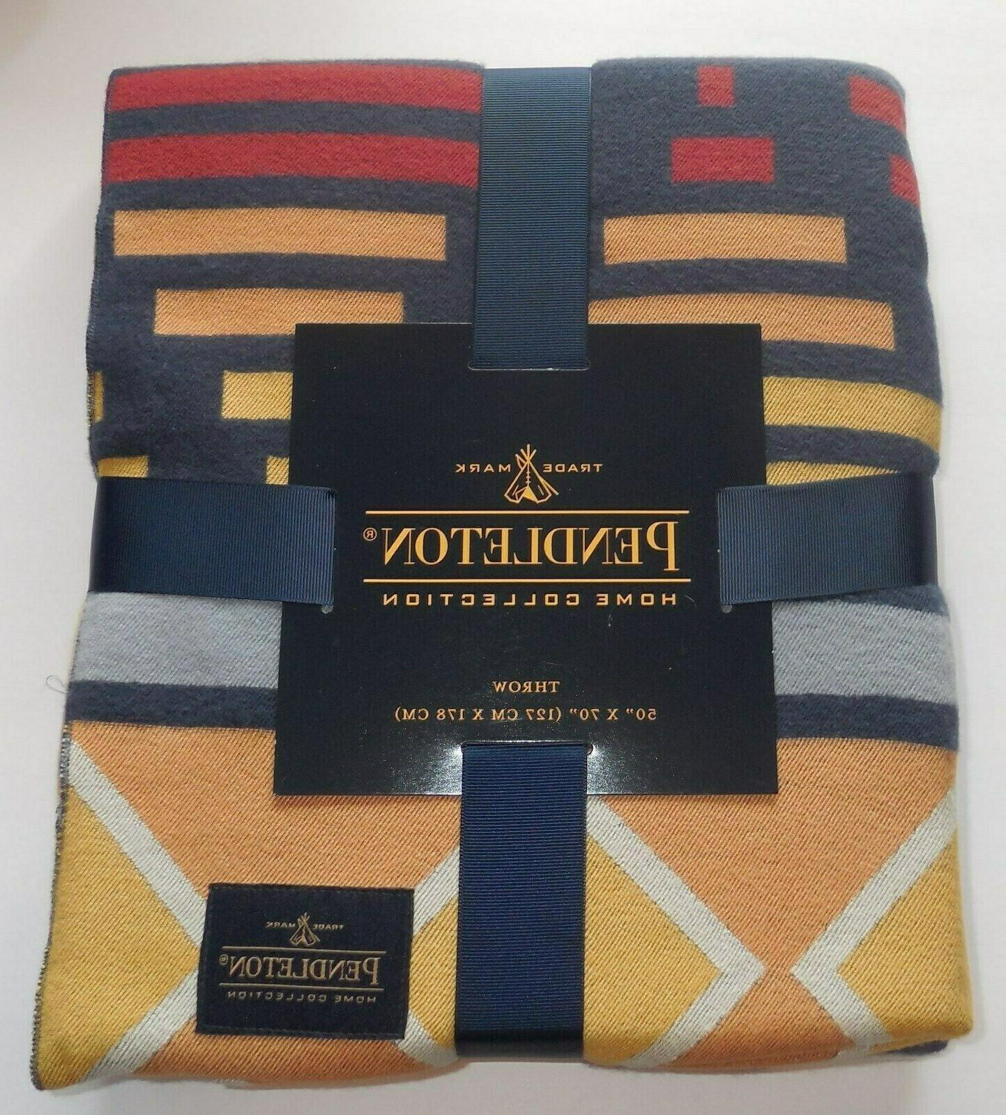 home collection throw blanket aztec tribal 50