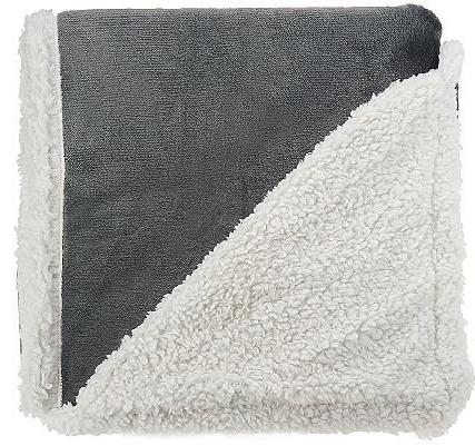 Berkshire Home Loftmink Sherpa Reversible Throw