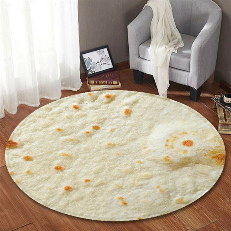 "HOT! Tortilla Blanket Burrito 60"" Blanket 60CM"