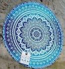 Jaipur Handloom Indian Mandala Round Roundie Beach Throw Tap