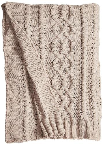 knitted luxury chenille throw blanket 51 by
