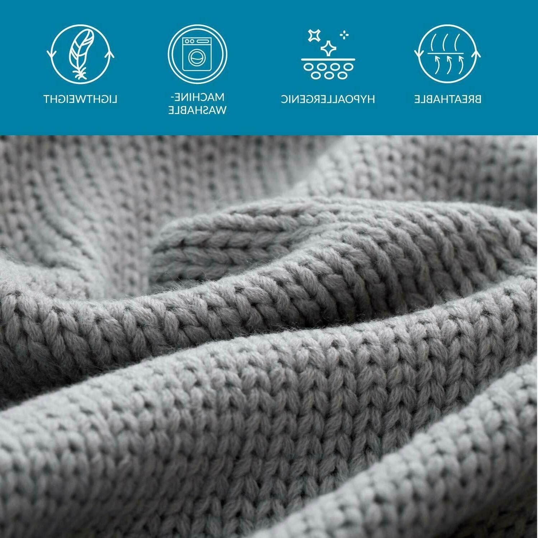 Bedsure for Lightweight, Knit
