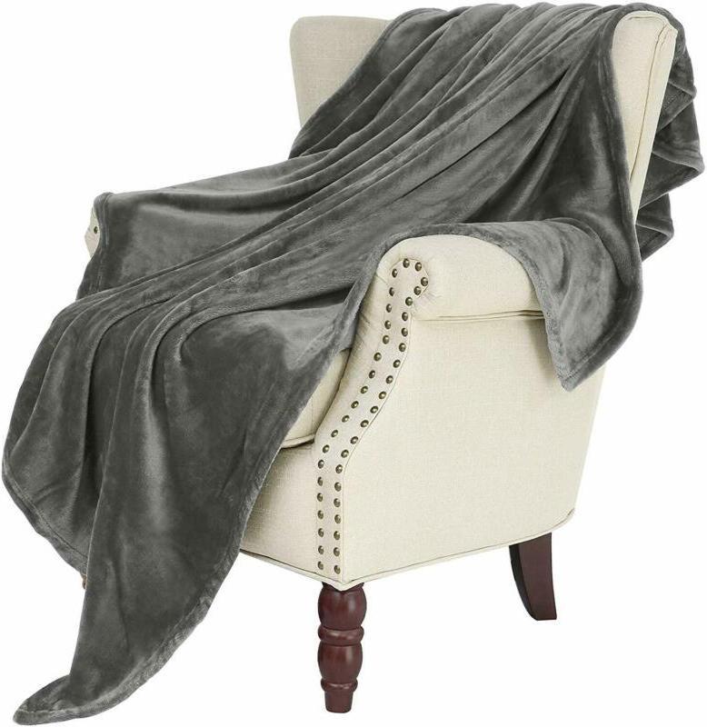 large flannel fleece velvet plush throw blanket