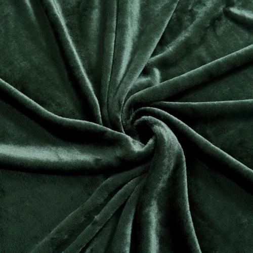 Exclusivo Large Velvet Throw - Forest