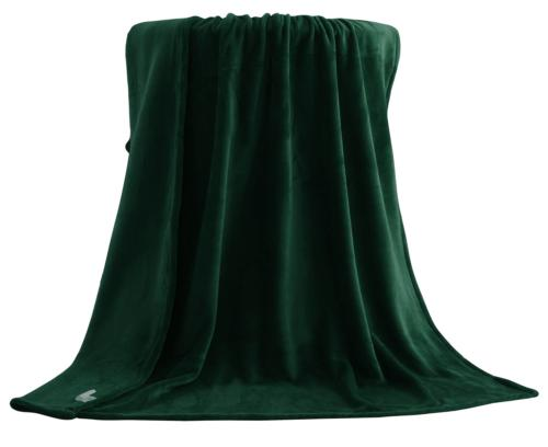 Exclusivo Mezcla Large Flannel Velvet Plush Throw Blanket -