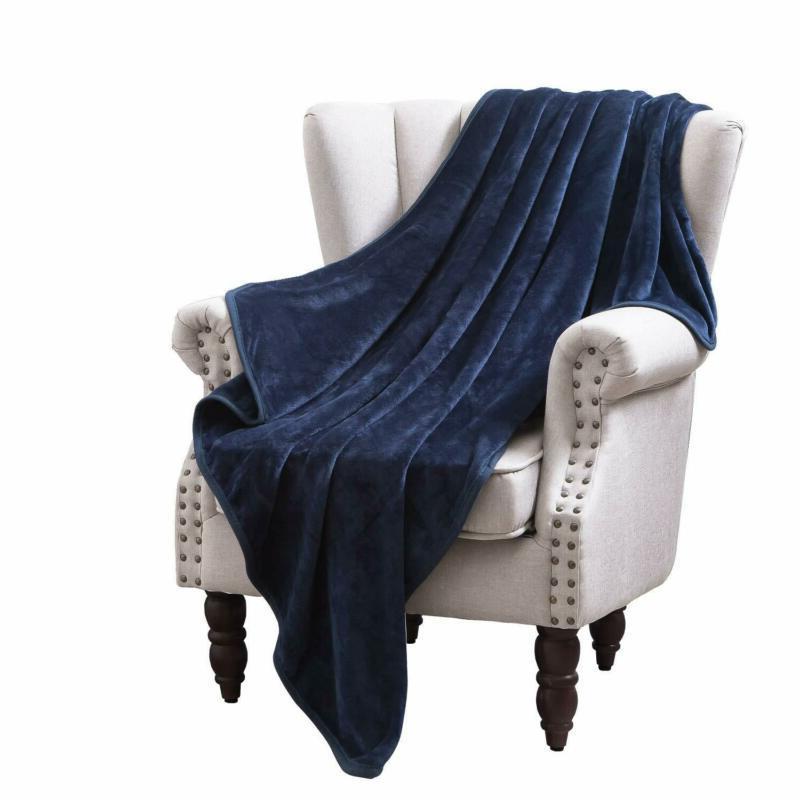 large flannel velvet plush throw blanket high