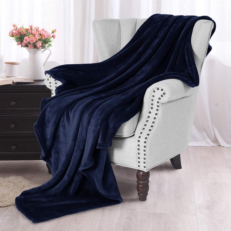 Exclusivo Large Velvet Throw Blanket Exclusives