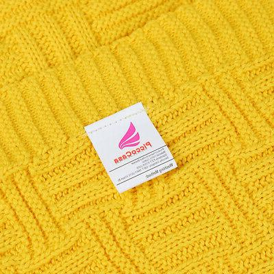 Large Warm Knit for Sofa Washable