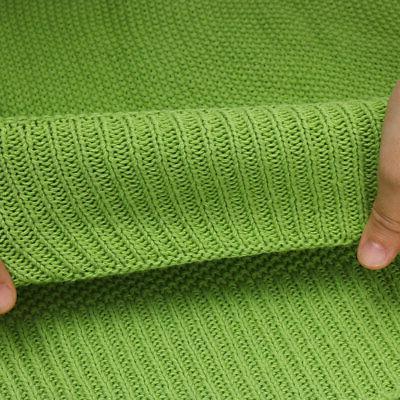 Large Cotton Knit Sofa Decorative