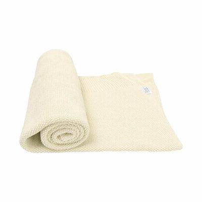 Large Throw Cotton Knit Blanket Thick Knit Throw Bed Decorative