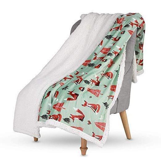 "Lavish Home Fleece Super Soft Blanket 50""x60"" Blanket"
