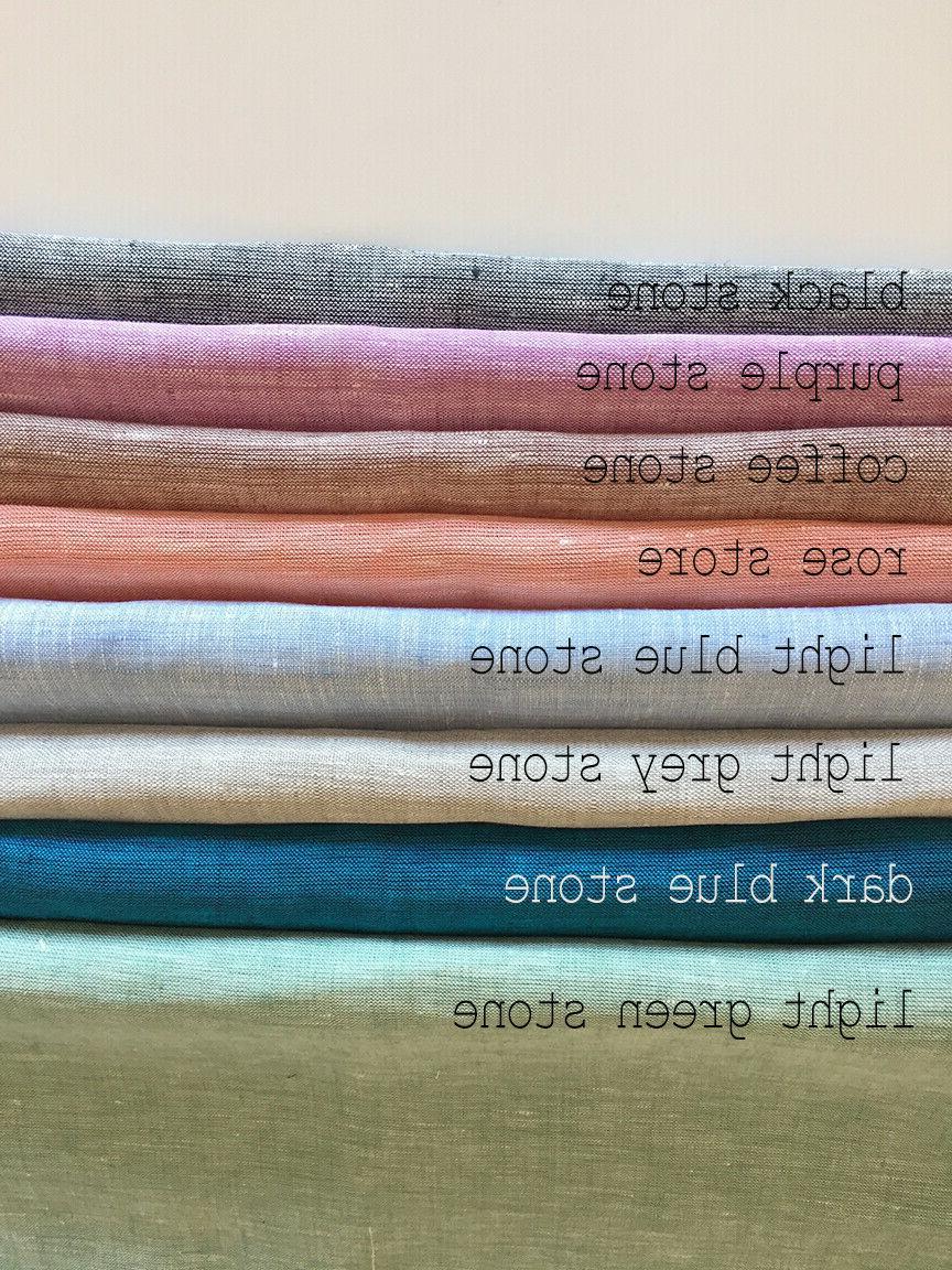 Linen blanket. linen.