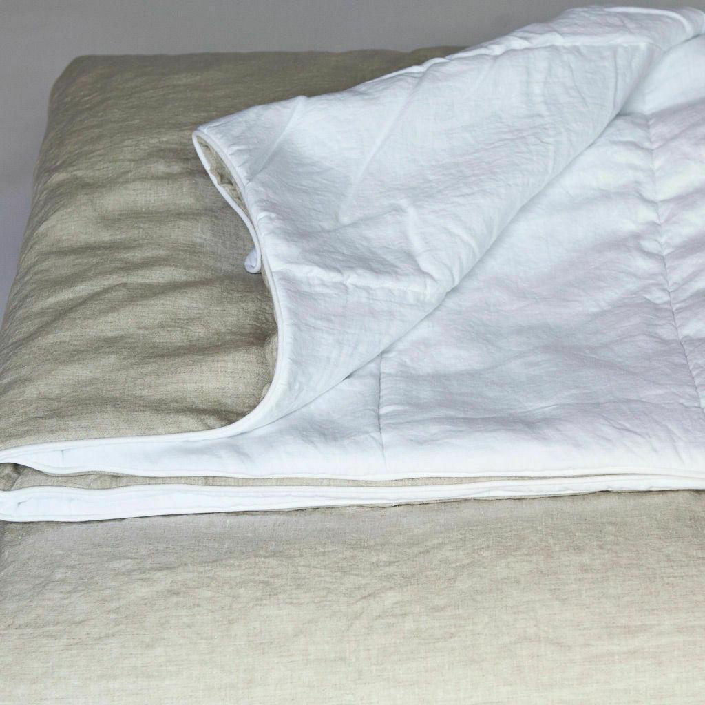 Linen throw Summer blanket. linen.