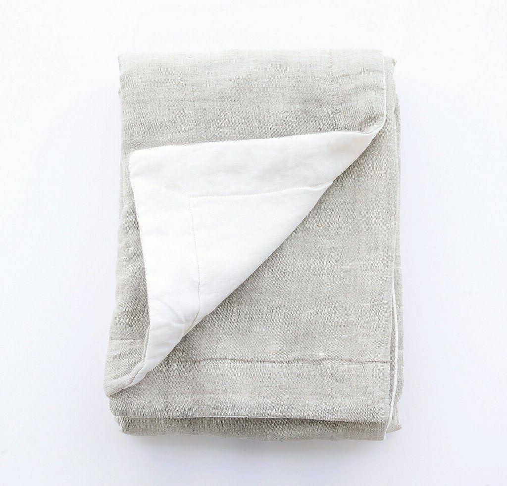linen throw blanket summer blanket linen plaid