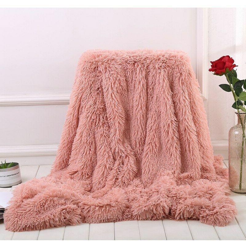 Long Shaggy Soft Fuzzy Decorative