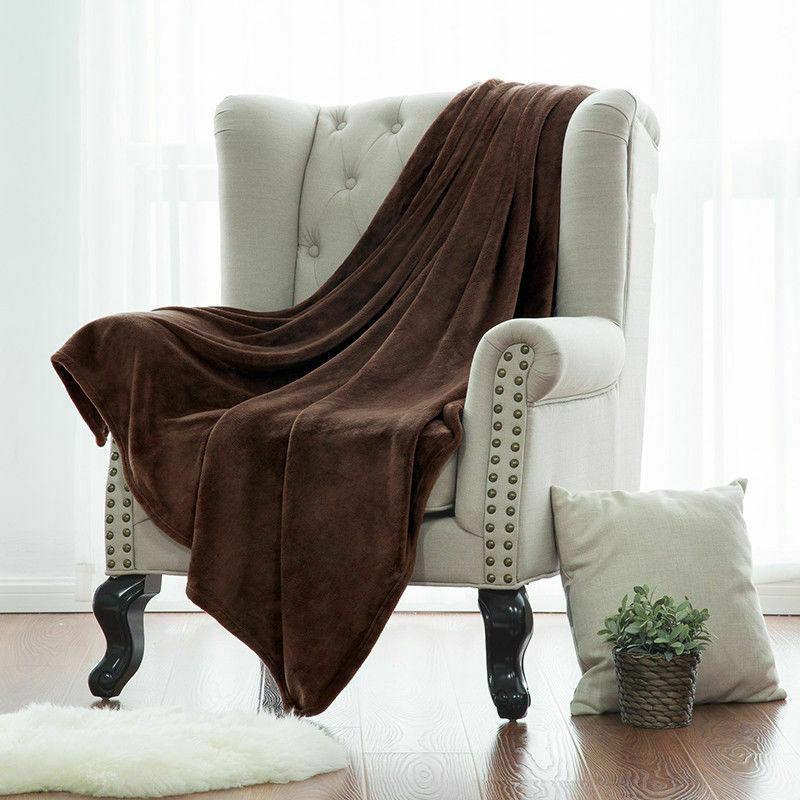 Bedsure Flannel Fleece Blanket Plush Throw Bed