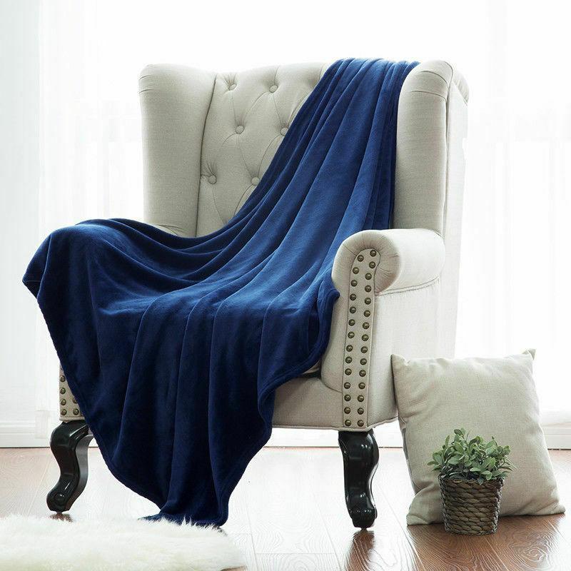 Bedsure Blanket Plush Throw Bed Blanket Microfiber