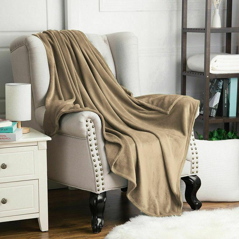 Bedsure Flannel Blanket Bed Microfiber