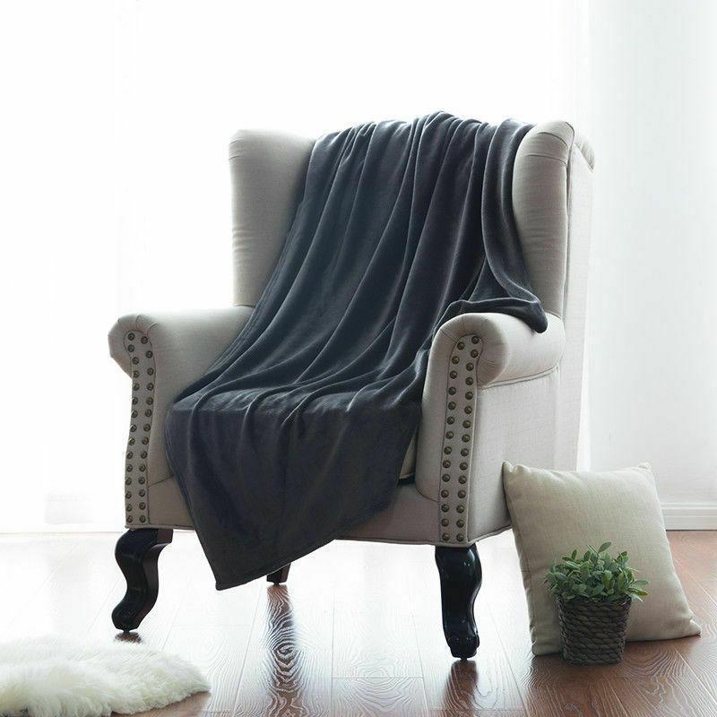 Bedsure Luxury Blanket Plush Bed Blanket