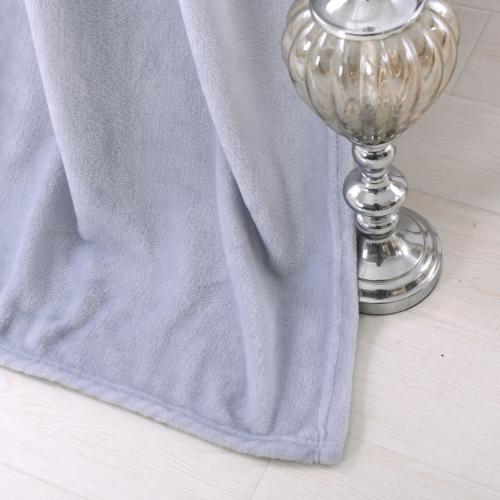 Exclusivo Mezcla Luxury Flannel Fleece Plush Blanket 50""