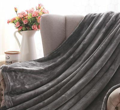 Exclusivo Mezcla Flannel Velvet Throw –