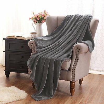 Exclusivo Velvet Plush Throw Blanket –