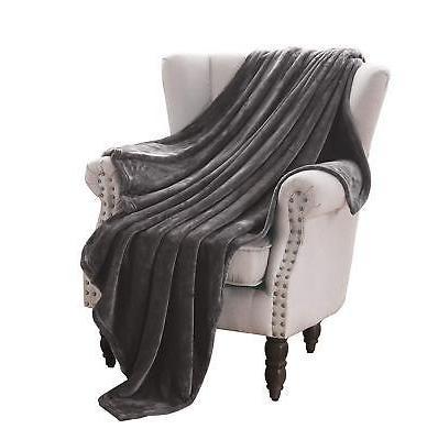 luxury flannel velvet plush throw blanket 50