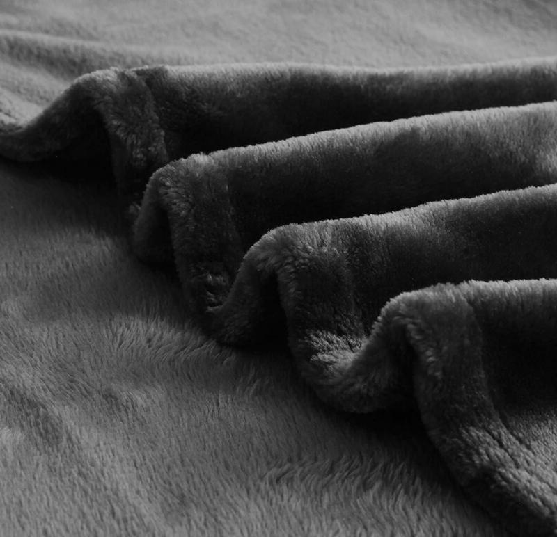 """Exclusivo Mezcla Fleece Plush Throw Blanket x 70"""""""