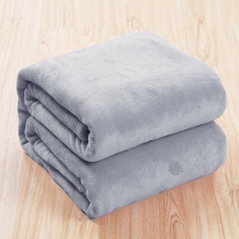 Luxury Plush Soft Throw Sherpa Velvet Blanket Bed