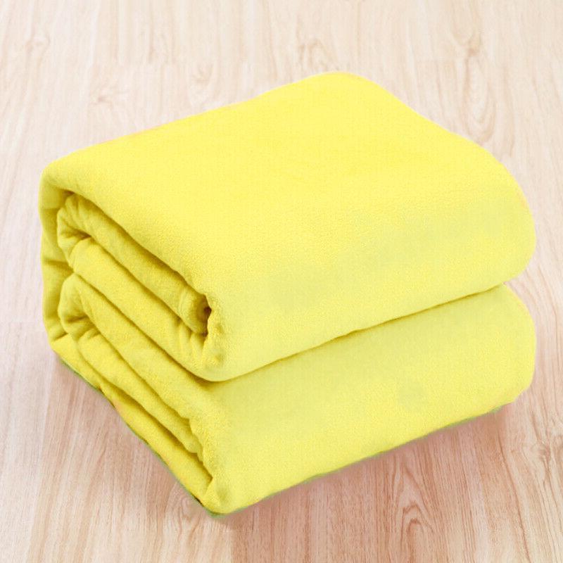 Luxury Plush Throw Sherpa Fleece Bed