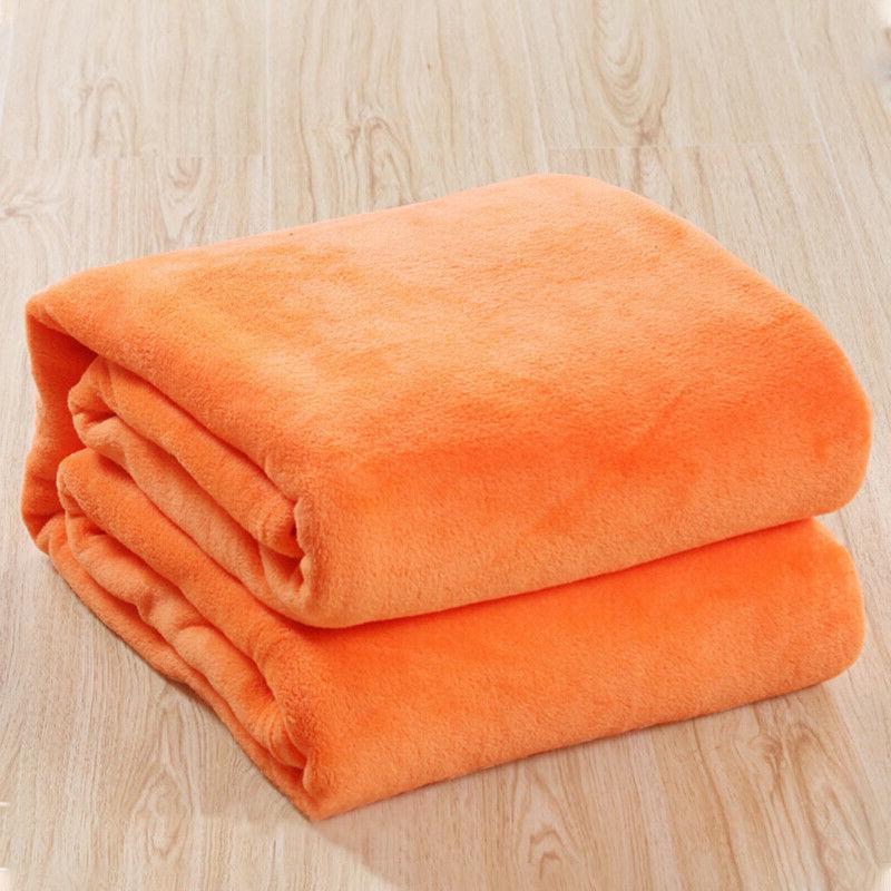 Luxury Plush Soft Throw Fleece Blanket Bed US
