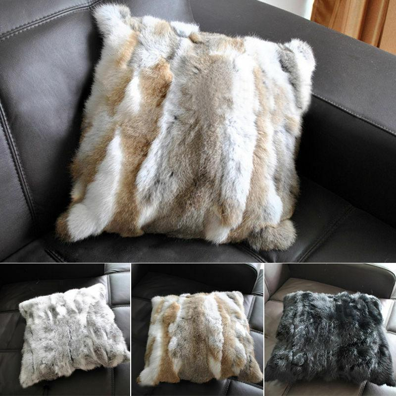 Luxury Fur Throw 100% Fur Warm Blanket